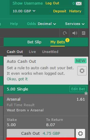 cash-out