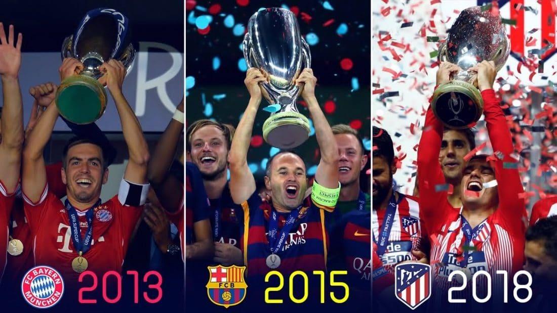 UEFA Super Cup history