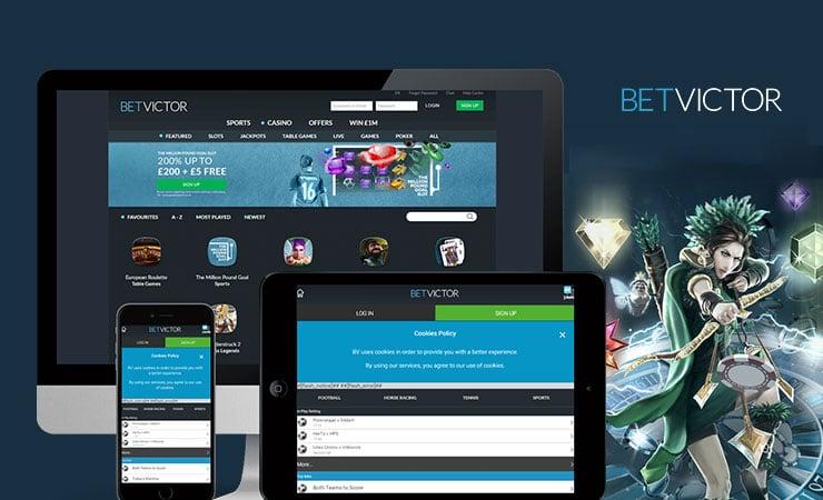Bet Victor Desktop