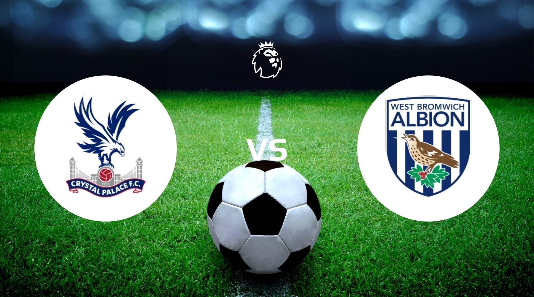 Crystal Palace vs West Brom Betting