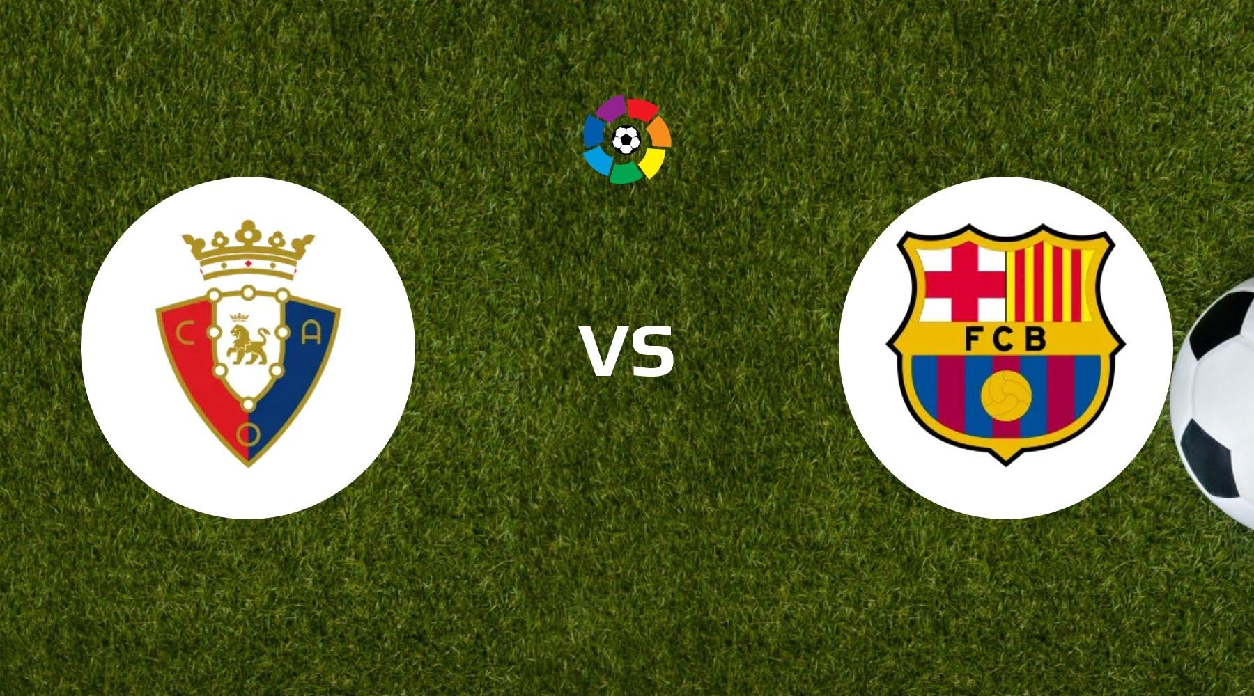 Osasuna vs Barcelona Betting