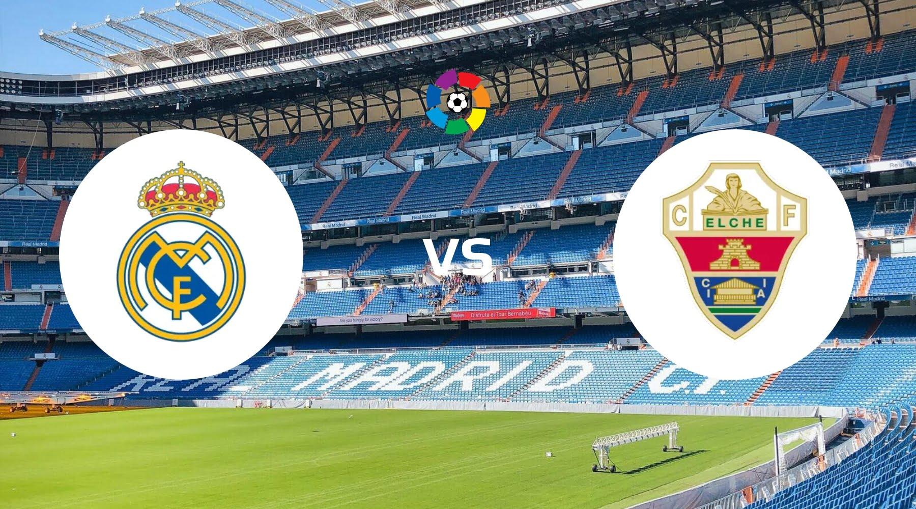 Real Madrid vs Elche Betting